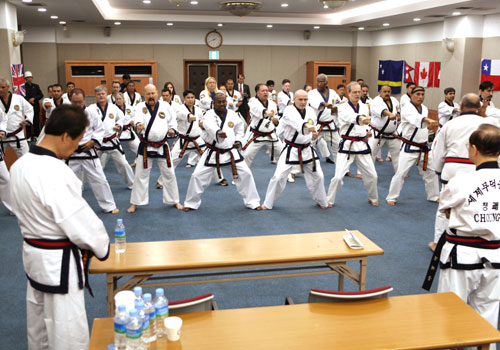 The 1st Tang soo do INTERNATIONAL Conference with 2nd Seoul forum